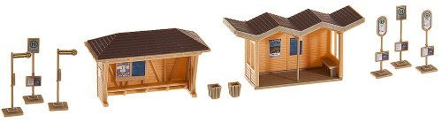 Faller 180587 Bus stop shelter Scenery and Accessories