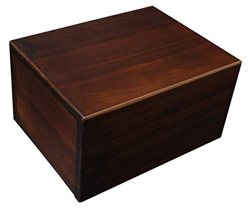 Large Wood Urn - Large Economy Wooden Urn Box