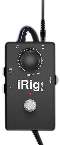 IK Multimedia IRIGSTOMP N Ik Multimedia Irigstomp N Irig Stomp for Ios Devices IRIGSTOMP  N