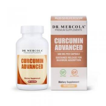 La curcumina avanzada, 90 Cápsulas - Dr. Mercola