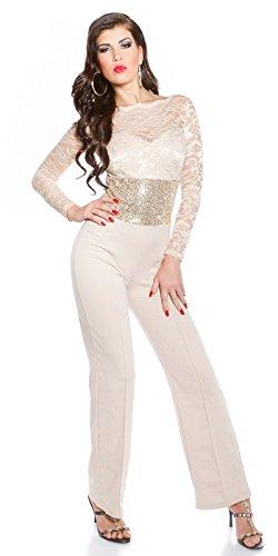 In-Stylefashion - Pantalón - para mujer Beige