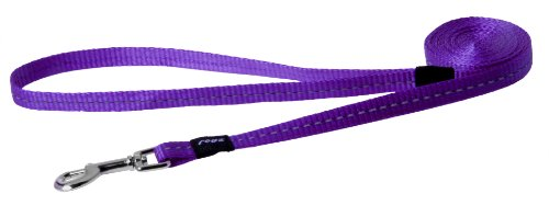 Dog Woof Dish - Reflective Dog Leash for Small Dogs, 3/8
