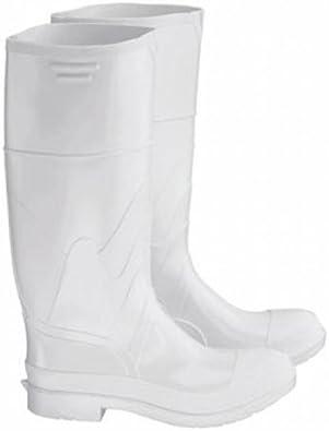 White Rubber Rain Work Boots