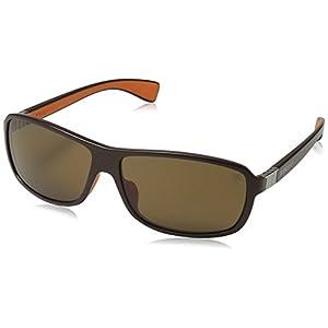 TAG HEUER 66 9303 205 621303 Aviator Sunglasses, Brown, 62 mm