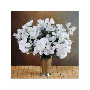 6 White Bushes Silk Mini PRIMROSES Wedding Flowers Bouquets Decorations Sale 92