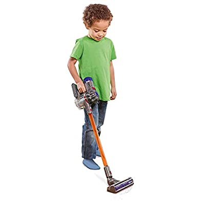 CASDON Little Helper Dyson Cord-Free Vacuum Cleaner Toy, Grey, Orange and Purple: Toys & Games
