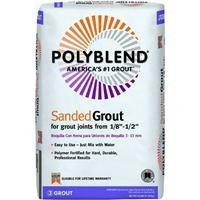 (Custom Building Products 50 Polyblend Pbg 25 Sanded Tile Grout?, 25 Lb, Bag, No Nutmeg, Solid Powder, Pound, Brown)