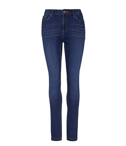 So Denim Womens Lara Skinny Jeans Dark Blue Wash 16/R