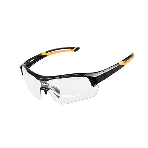 con para y miopía de Mujer Gafas Yellow FOONEE Montura amp;Black Hombre Yellow amp;Black Sol de Zt0xqH