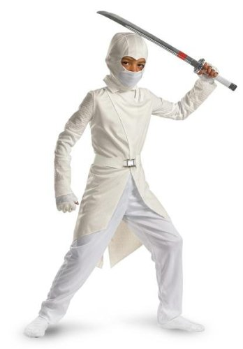 Big Boys' Deluxe Storm Shadow Costume - -