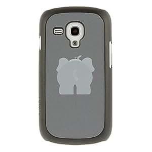 conseguir Elefante Patrón Dibujo Culo protector duro Volver Funda para el Samsung Galaxy Tendencia Duos S7562