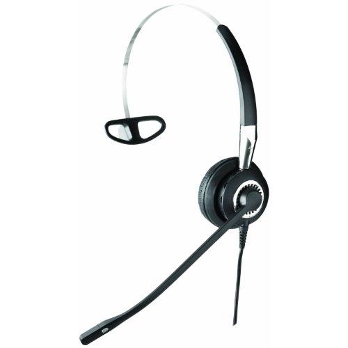 Jabra BIZ 2400 3-in-1 Mono Corded Headset for Deskphone with 3 Wearing Styles