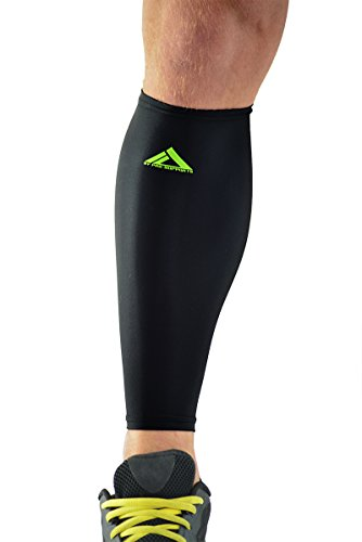 MyProSupports Calf Compression Sleeve (Black, Medium)