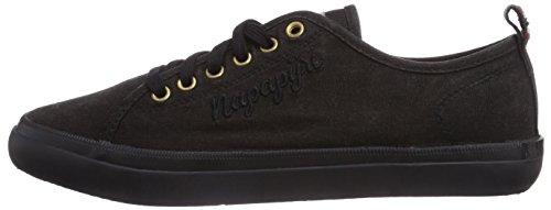 N00 Noir Footwear Femme Napapijri Erin Basses Schwarz black Sneakers x784fFv4q