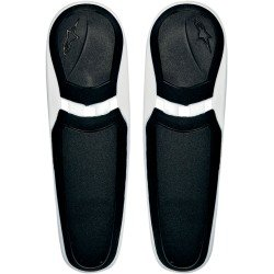 Alpinestars Toe Sliders for SMX Plus Boots - Black/White 25SLISMX13-21 Alpinestars Toe Slider