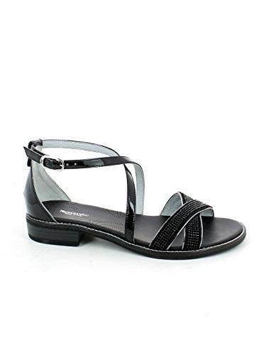 Shoes Giardini Strap Black Women's Nero with wBUqxYE0