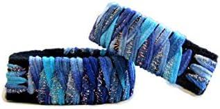 Motion Sickness Relief, Anti Nausea Bracelet, Morning Sickness Relief, Bracelet for Travel, Nausea Remedy (Blue Dream) (Medium 8 in)