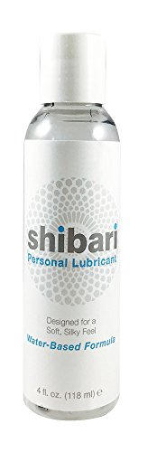 最好的交易 Shibari Water Based Intimate Lubricant, 4oz Bottle