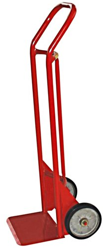 Milwaukee Hand Trucks 40175 Heavy Duty Flow Back Handle Truck with 8-Inch Mold-on Wheels -