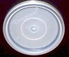 Tupperware G #297 Seals 16 Oz Tumbler Snack Cups Replacement Lid 3
