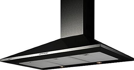 CATA OMEGA 600 BK De techo Negro 645m³/h D - Campana (645 m³/h, Canalizado, D, F, B, 57 dB): Amazon.es: Hogar