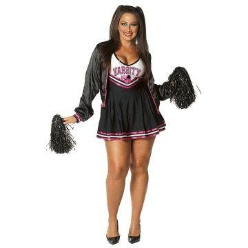 Varsity Cheerleader Plus Size Costume - Plus Size 1X/2X - Dress Size 16-18]()