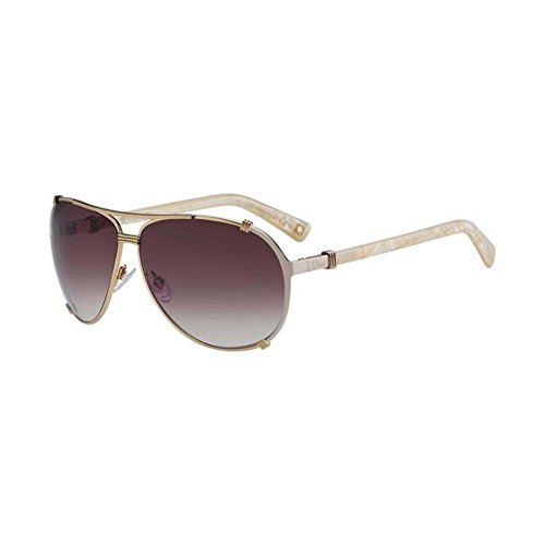 Christian Dior Chicago 2/S Sunglasses Rose Gold Cream Pink / Brown Violet ()