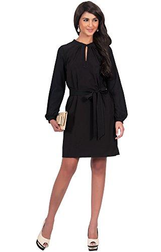 formal black dresses for funerals - 2