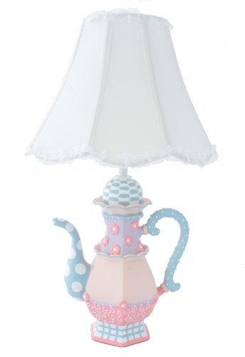 Adorable Teapot Table Lamp - Fantastic Hand Painted (Teapot Tea Room)