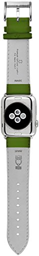 ullu Apple Watch Band for Series 1 & Series 2 in Premium Leather - Lime - UAWS38SSVT93 by ullu (Image #1)