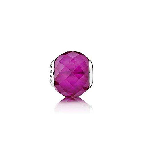 Pandora 796076SRU Essence Happiness Charm, Synthetic Ruby