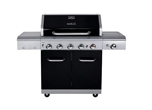 Nexgrill 5-Burner Delivering 62,000 BTU Total Propane Gas Grill with Powerful Side Burner
