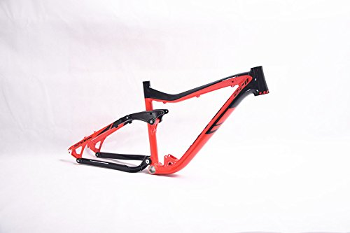 Mtb Full Suspension - LUTU Full Suspension Aluminium frame Alloy MTB Mountain DH Cycling Bicycle Frame 26/27.5er17inch Downhill Bicycle Part