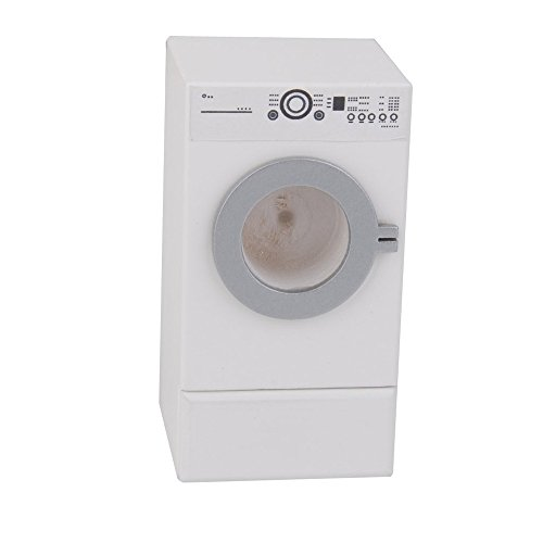 dreamflyingtech Tumble Dryer Machine with Opening Drawer for 1:12 Washer Dollhouse Miniature Furniture (Dryer Drawers)