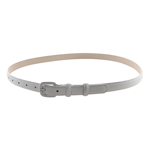 Bpstar Womens Skinny Leather Belt Solid Color with Pin Buckle Simple Waist Belts by Bpstar (Image #4)