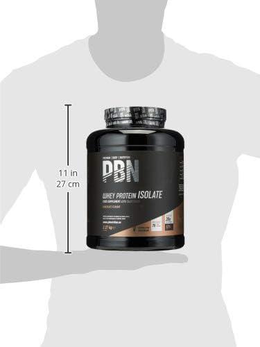 PBN - Premium Body Nutrition - Aislado de proteína de suero de leche en polvo (Whey-ISOLATE), 2,27 kg, sabor chocolate (75 porciones)