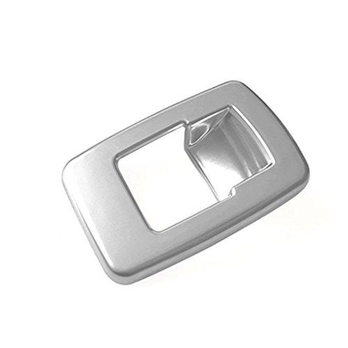 Chrome Int/érieur Trunk Boot Couvercle ouvert Release Switch bouton Housse Trim pour accessoire Auto Bmx1