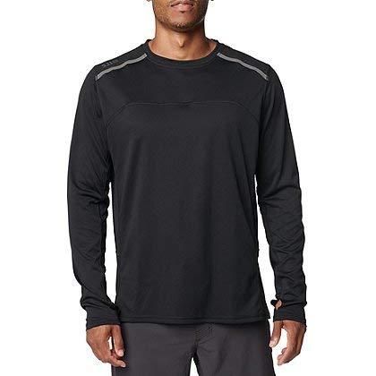 5.11 Tactical Max Effort Long Sleeve Shirt - Black, Size: 2X-Large