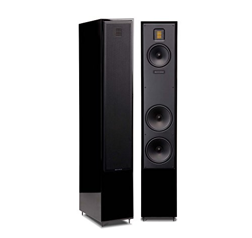 1. Martin Logan Motion 40 Tower Speakers Gloss Black (Pair)