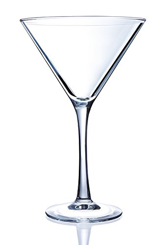 (Arc International N1963 Luminarc 4 Piece Cachet Martini Glass Set 10 oz Clear)