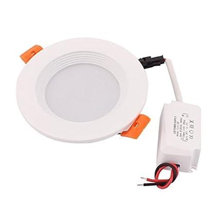 eDealMax AC85-265 3W 5730 LED SMD da incasso da incasso a soffitto lampada del riflettore bianco puro - - Amazon.com