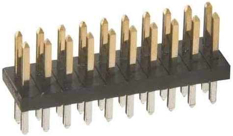 Pack of 10 Harwin Headers /& Wire Housings 50+50 DIL PIN HDR VERT Au//Sn
