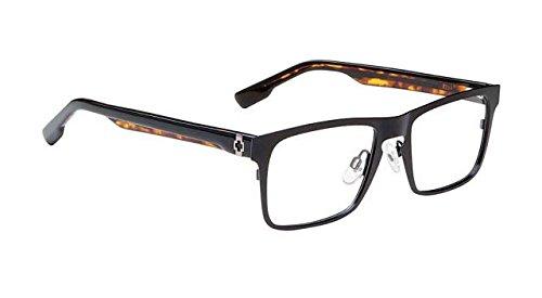Spy Optic Heath Eyeglasses - Matte Black Frame with Clear Demo Lens - Eyeglasses Optics