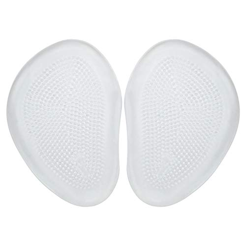 Envelop Gel Metatarsal Pads - Ball of Foot Cushion - High Heel Foot Inserts for Women, Men, Morton's Neuroma Pain Relief, Diabetic Feet Orthotic Toe - Padded Shock Absorbing Support - Adhesive Sticker