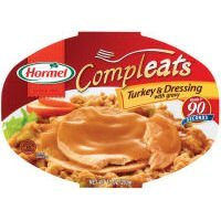 Hormel Microwavable Compleats Turkey & Dressing with Gravy - 2 of 10 - Turkey Dressing Gravy