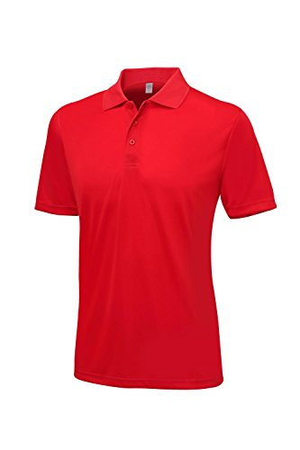 Just Cool - Polo - Manga corta - para hombre Fire Red