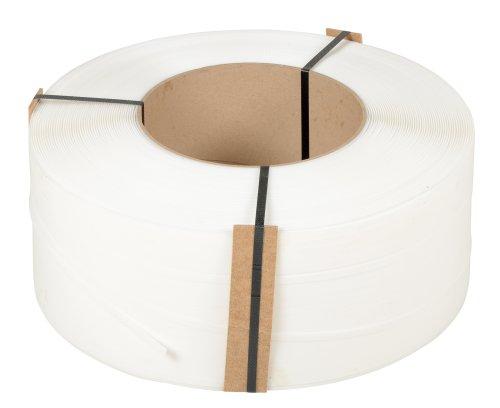 Vestil-ST-38-9X8-WH-White-Polypropylene-Strapping-12900-Length-38-Width