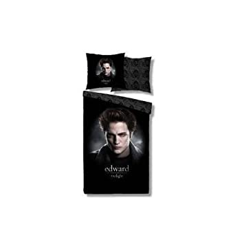 linge de lit twilight Best Line Twilight Eclipse parure de lit Edward 155 x 220 cm  linge de lit twilight
