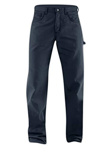 Carhartt Canvas Jeans (Carhartt FRB159-DNY-34X30 Flame-Resistant Loose Fit Midweight Canvas Jeans, 34x30, Denim)