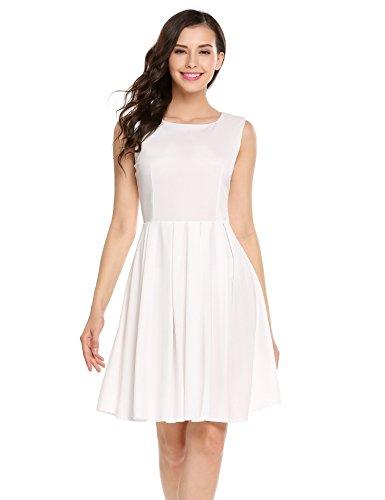 星グラフウィザードZeagoo DRESS レディース US サイズ: L カラー: ホワイト